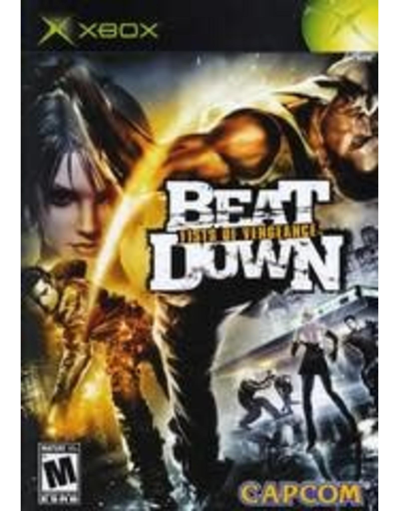 Xbox Beat Down Fists of Vengeance (CiB)