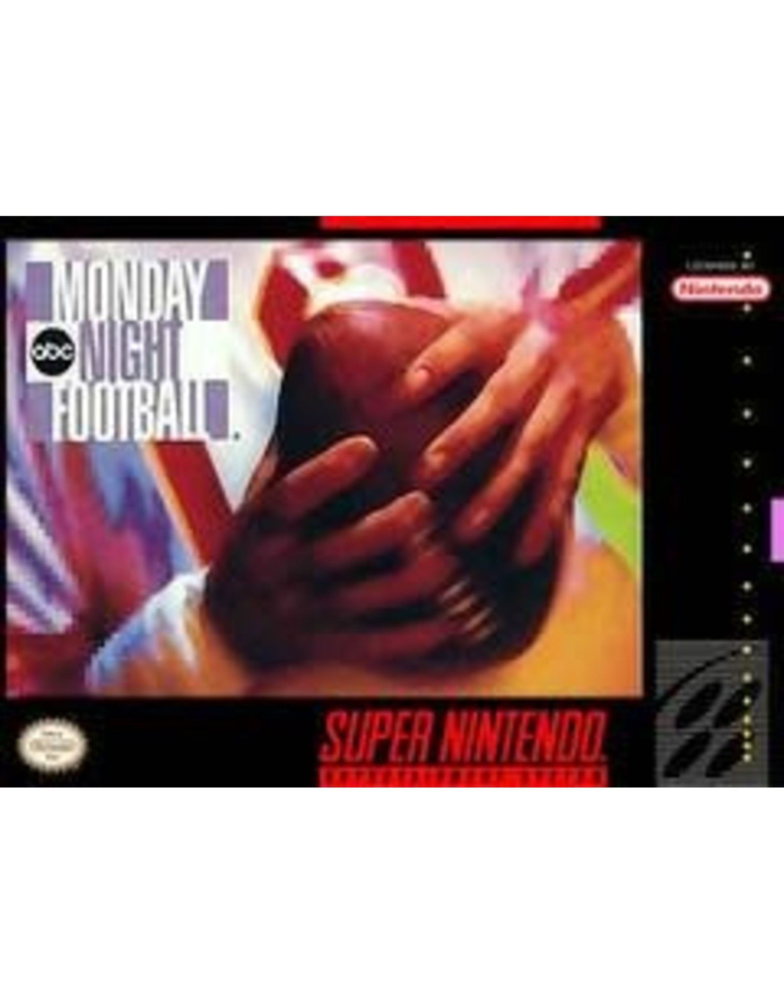 Super Nintendo ABC Monday Night Football (CiB)
