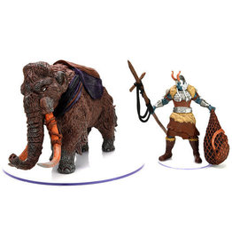 Dungeons & Dragons D&D Icons Snowbound Frost Giant and Mammoth
