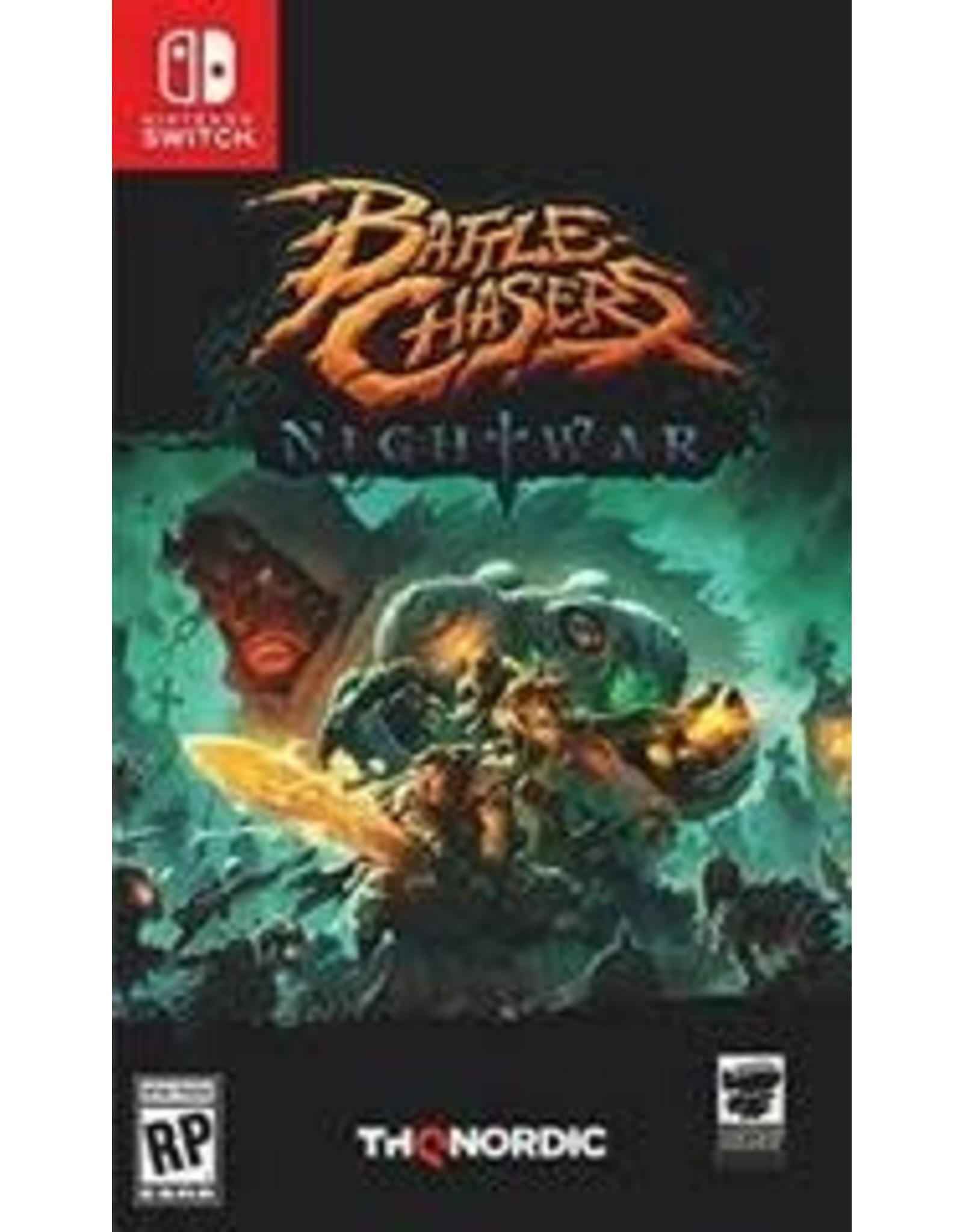 Nintendo Switch Battle Chasers Nightwar (Used)