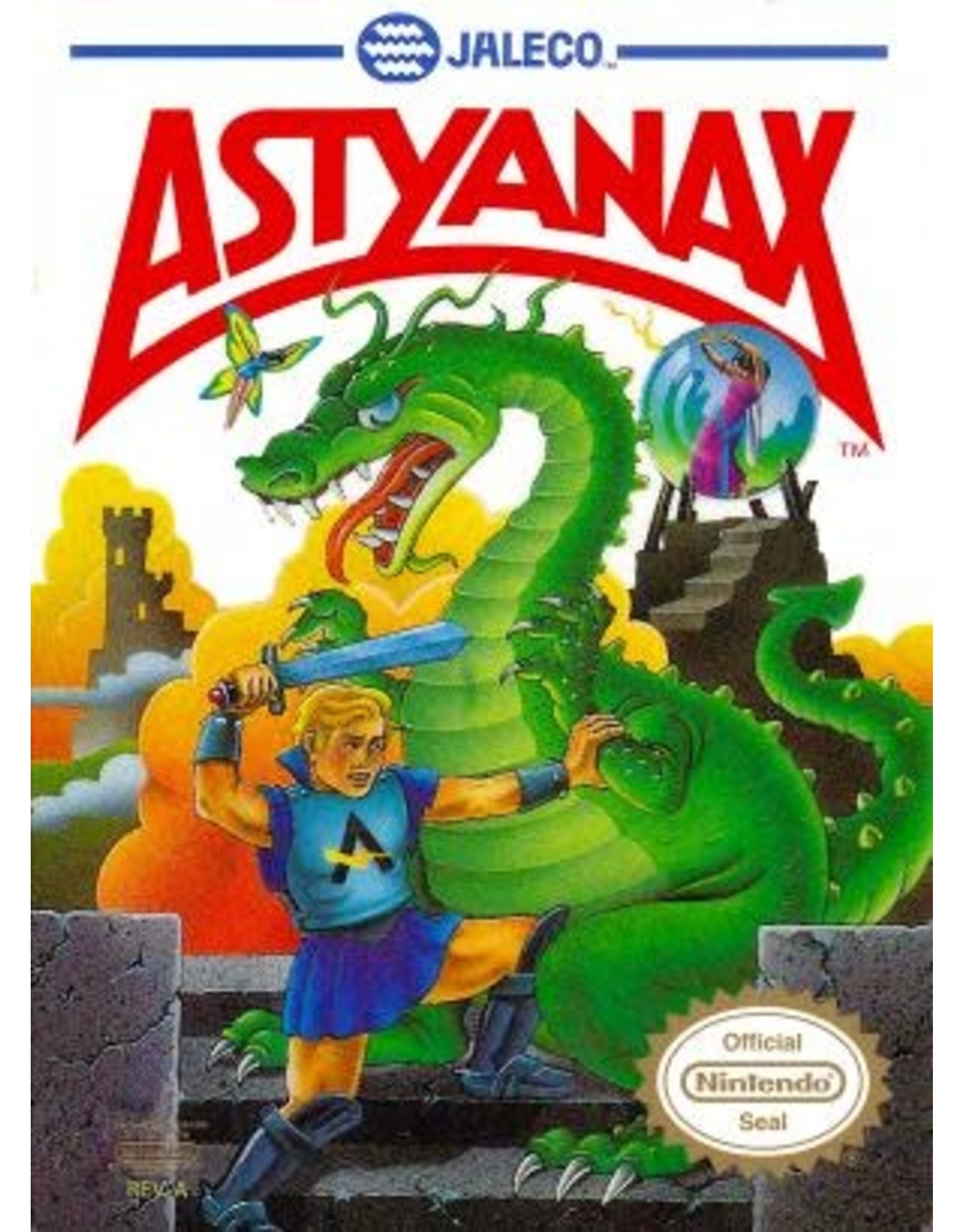 NES Astyanax (Cart Only)