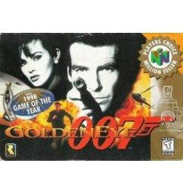 Nintendo 64 007 GoldenEye (Player's Choice, Cart Only, Damaged Label)