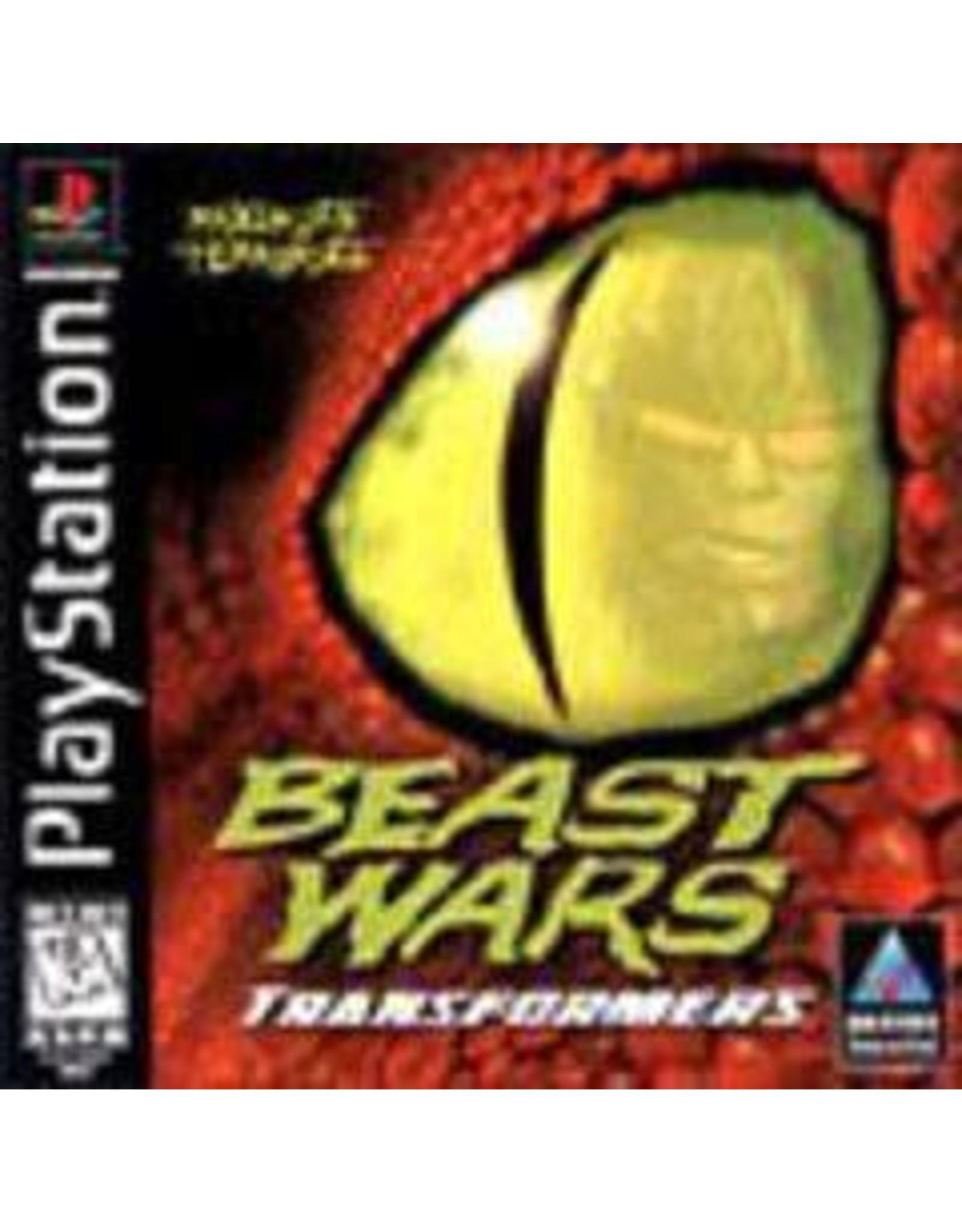 Playstation Beast Wars Transformers (No Manual)