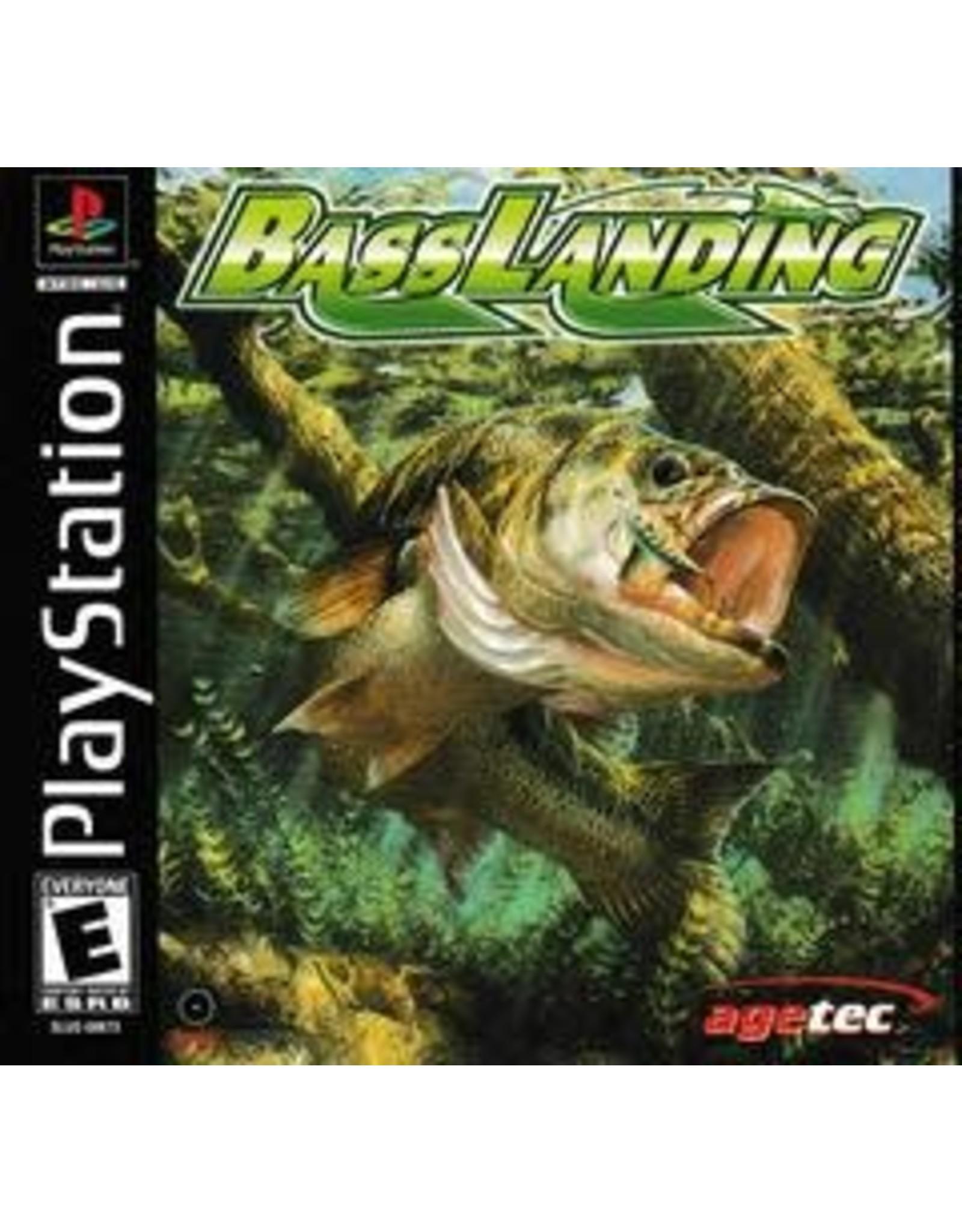 Playstation Bass Landing (No Manual)