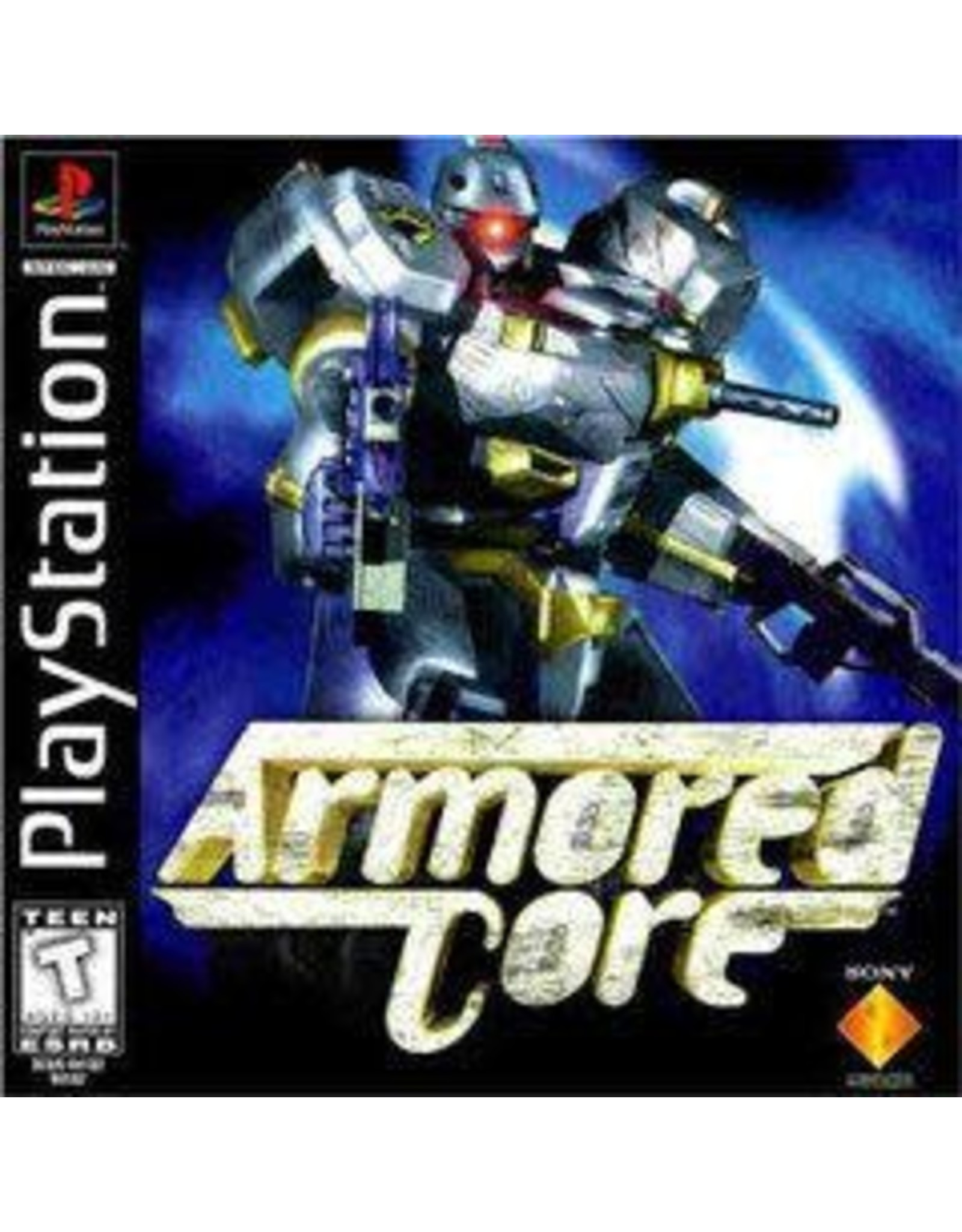 Playstation Armored Core (No Back Insert)