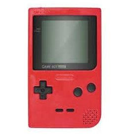 GameBoy Game Boy Pocket Red (Used, New Screen)