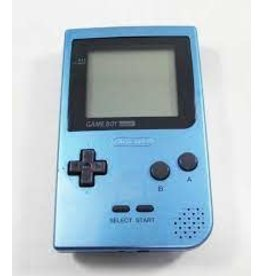 GameBoy Game Boy Pocket Ice Blue (Used, New Screen)