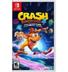 Nintendo Switch Crash Bandicoot 4 It's About Time (Used)