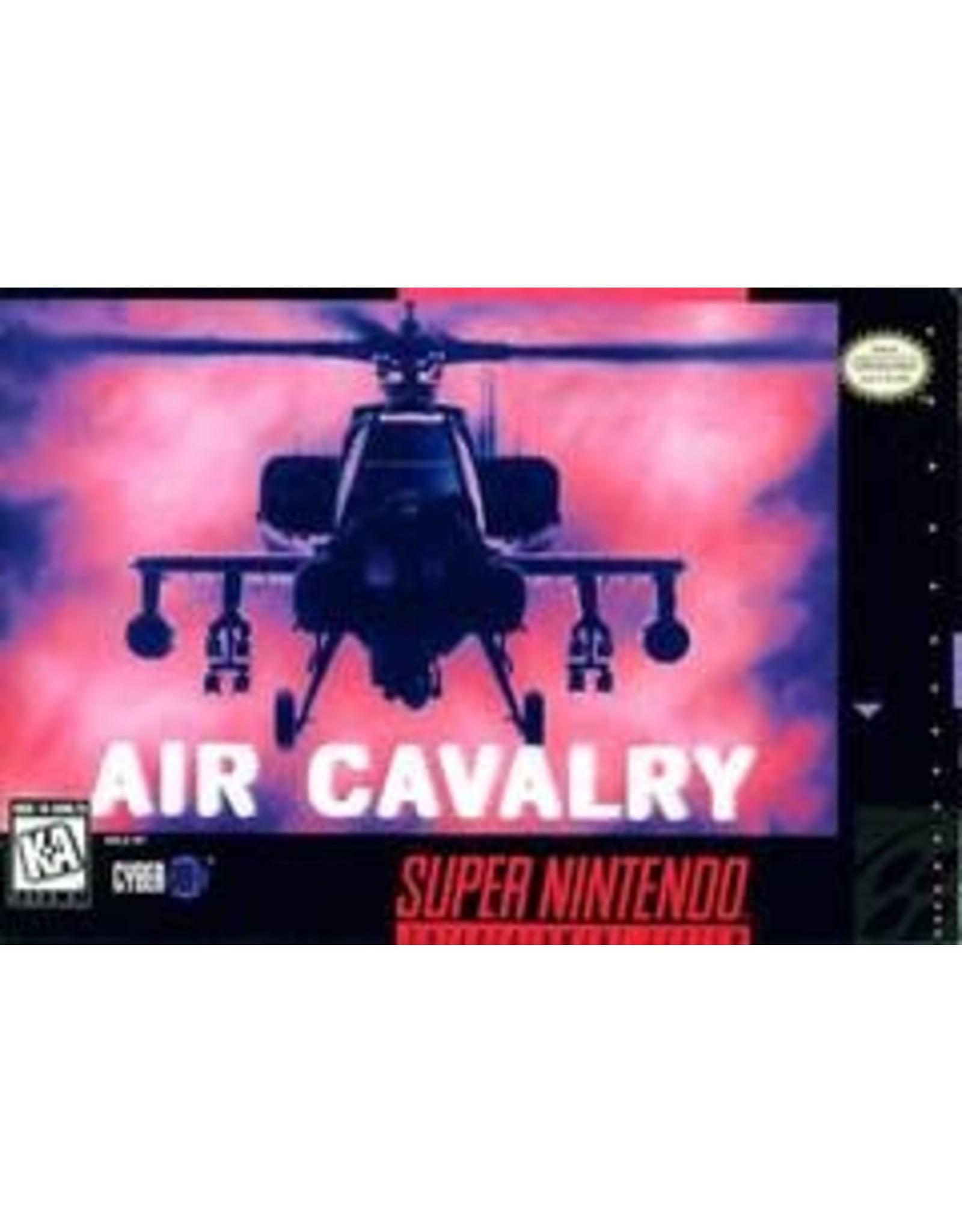 Super Nintendo Air Cavalry (Boxed, No Manual)