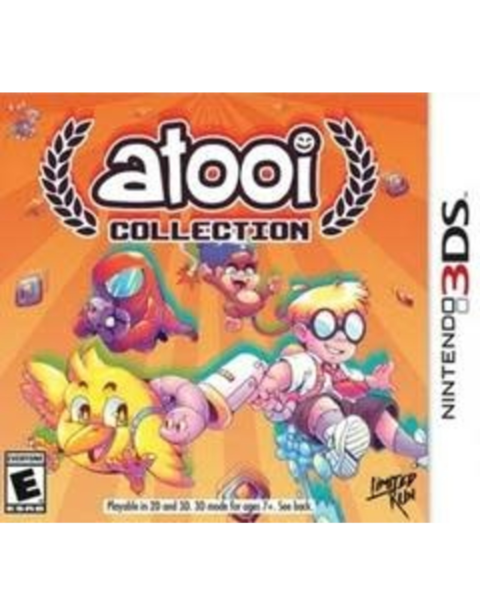 Nintendo 3DS Atooi Collection (LRG #001, Brand New)