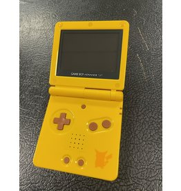 GameBoy Advance Gameboy Advance SP Limited Edition Pickachu Toy's R' Us Exclusive Console (CiB, Wear on Shell