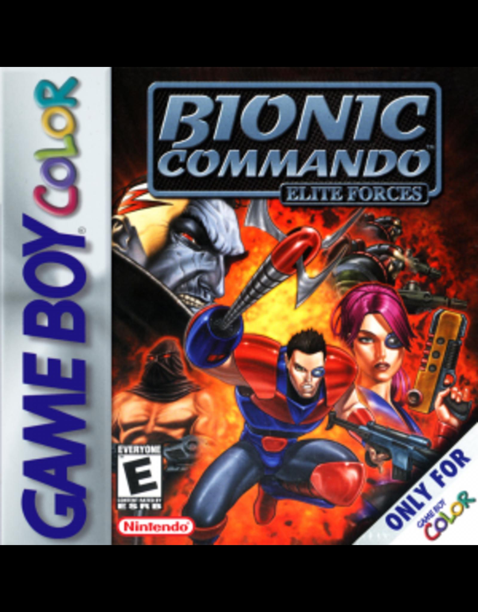 GameBoy Color Bionic Commando Elite Forces (Cart Only)