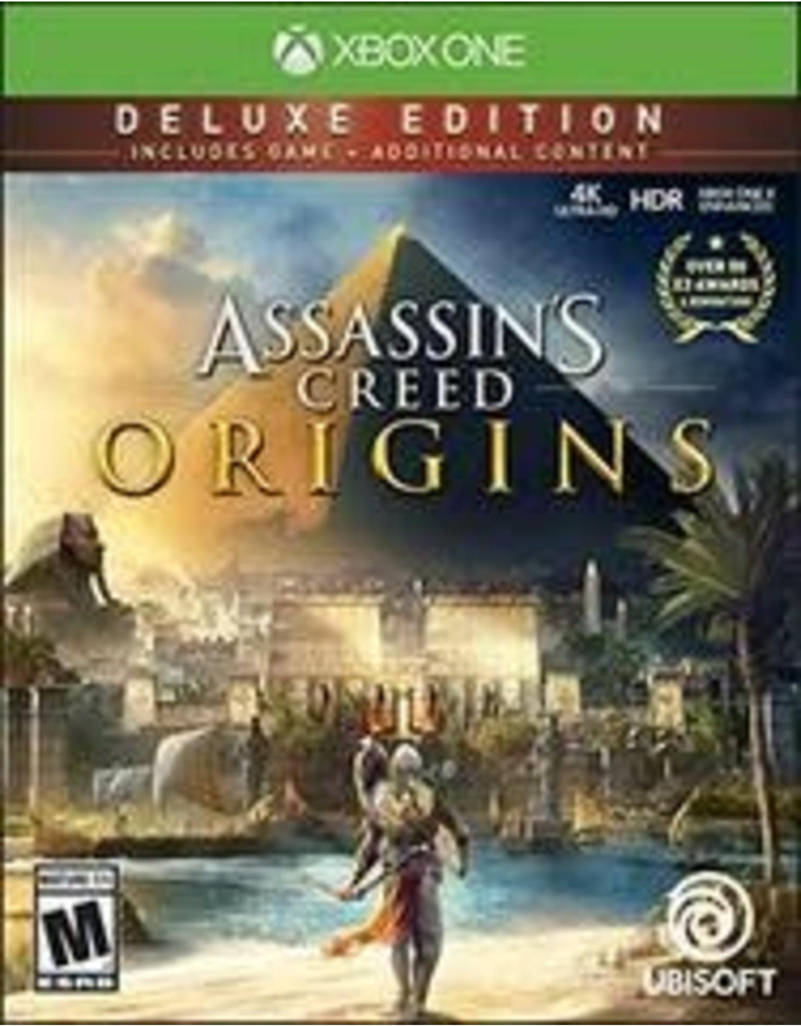 Xbox One Assassin's Creed: Origins Deluxe Edition (CiB, No DLC)