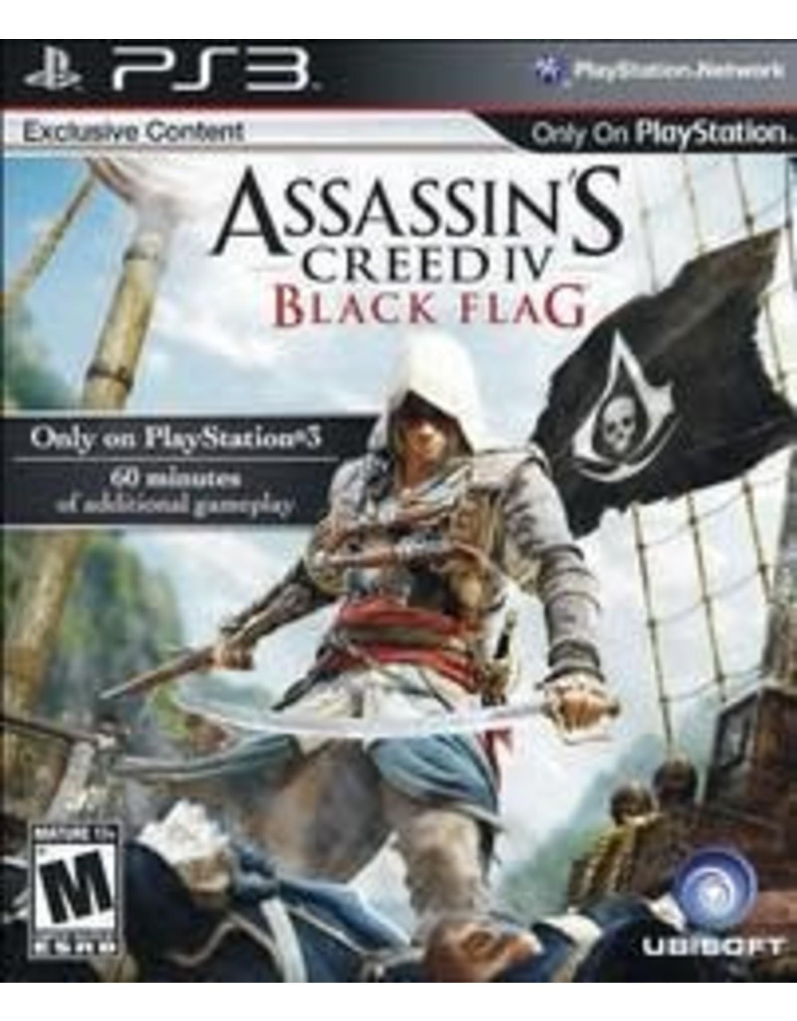 Playstation 3 Assassin's Creed IV: Black Flag (No Manual)
