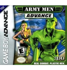 GameBoy Advance Army Men Advance (Damaged Label, Cart Only)
