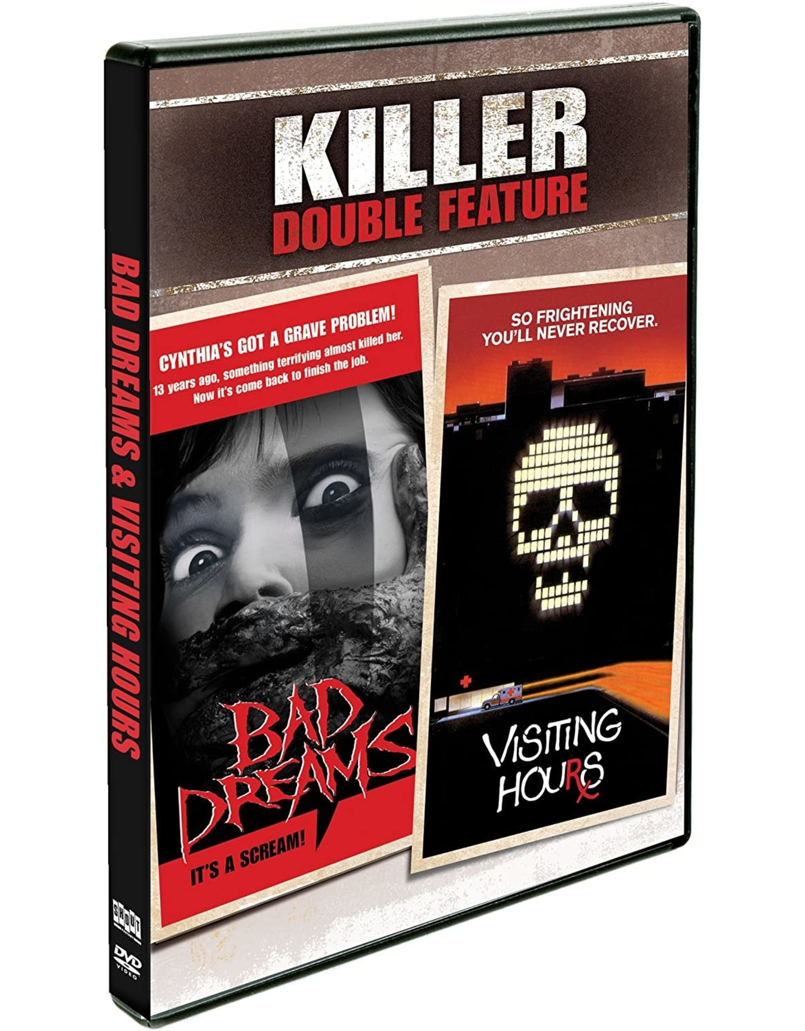 Horror Cult Bad Dreams / Visiting Hours - Killer Double Feature