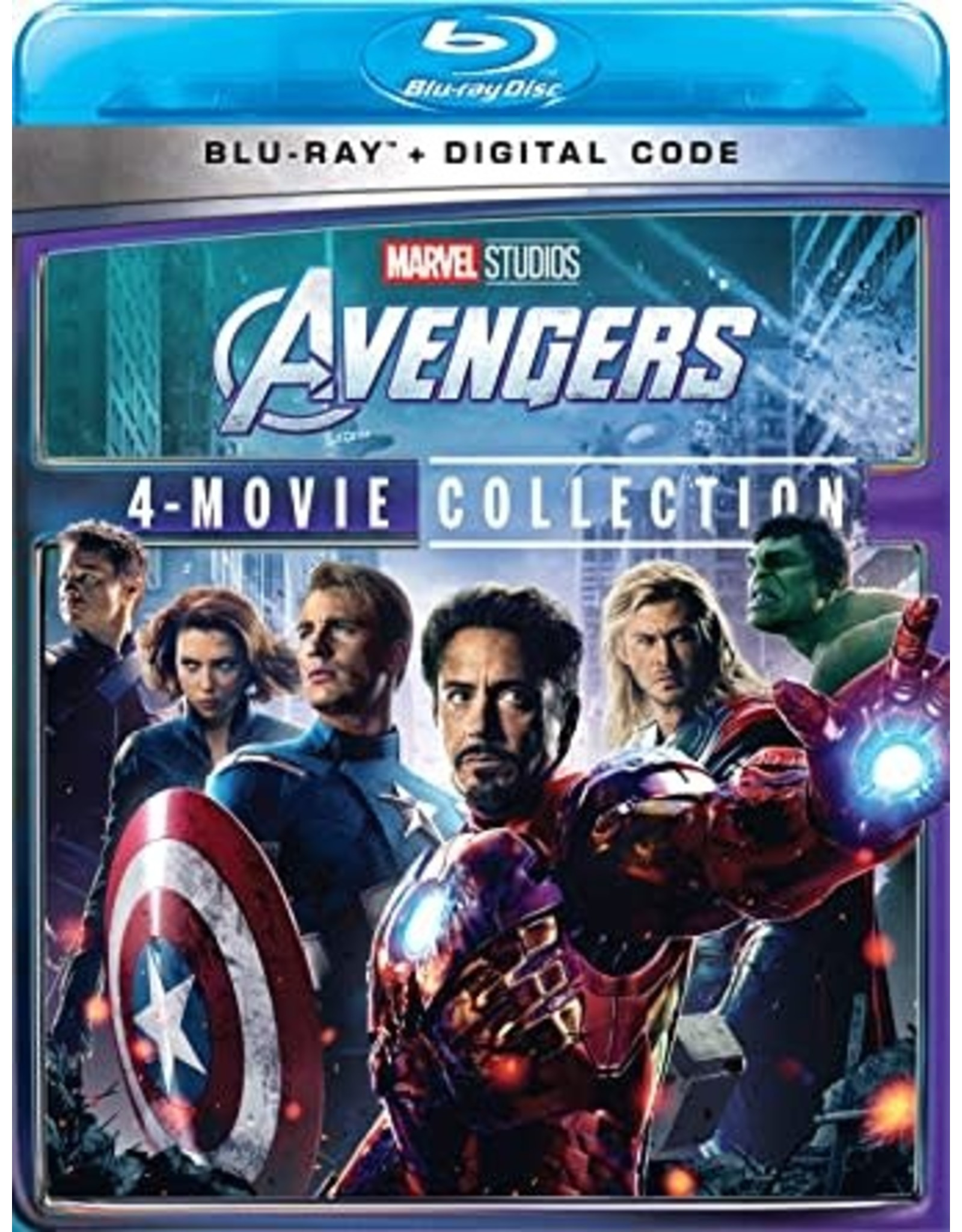 Disney Avengers 4-Movie Collection (USED)