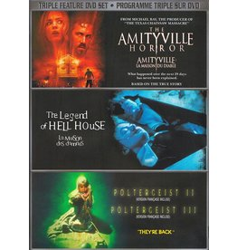 Horror Cult Amityville Horror, The 2005 / The Legend of Hell House / Poltergeist II & III DVD Set