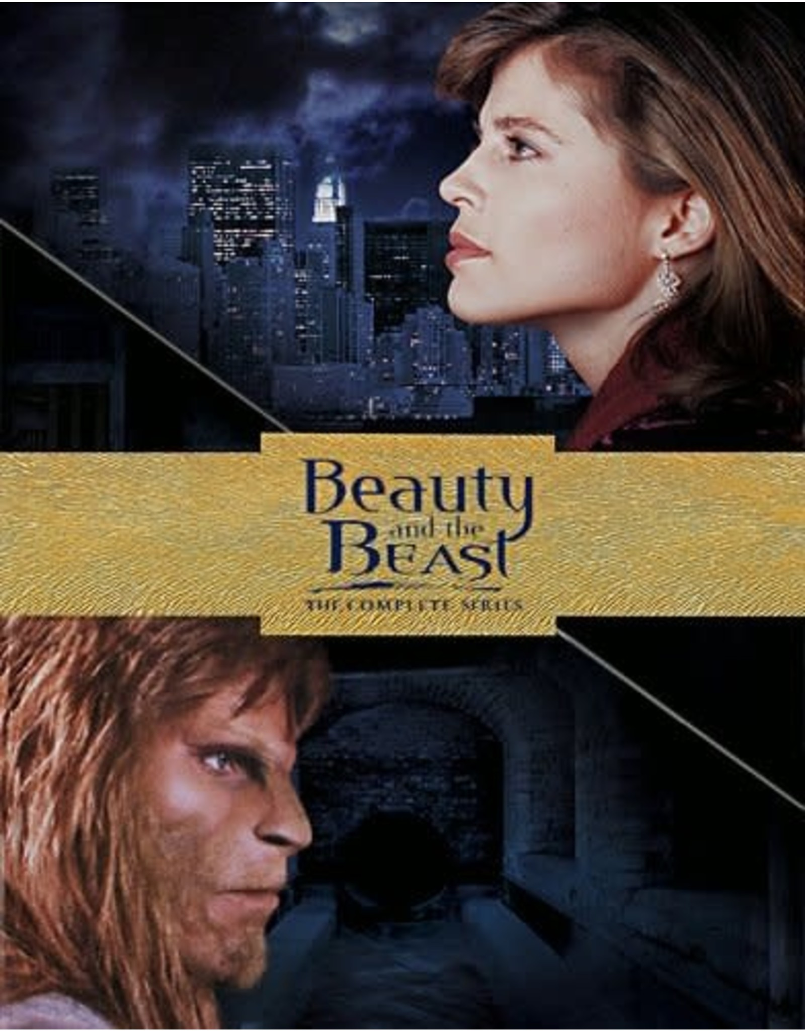 Cult and Cool Beauty and the Beast The Complete Series (Brand New)
