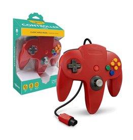 Nintendo 64 N64 Nintendo 64 Controller Red (Tomee)