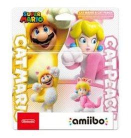 Amiibo Cat Mario and Peach 2 Pack (Super Mario)