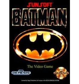 Sega Genesis Batman (CiB, Damaged Manual)