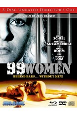Cult and Cool 99 women 3-Disc Unrated Director's Cut Blue Underground (Brand New)