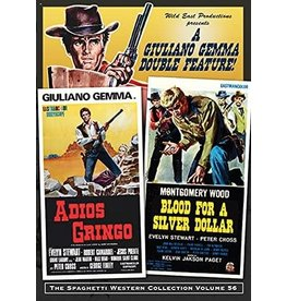 Cult and Cool Adios Gringo / Blood For A Silver Dollar Double Feature (Brand New)