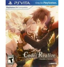 Playstation Vita Code: Realize Guardian of Rebirth (Brand New)