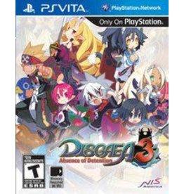 Playstation Vita Disgaea 3 Absence of Detention (CiB)