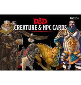 Dungeons & Dragons D&D Creature & NPC Cards