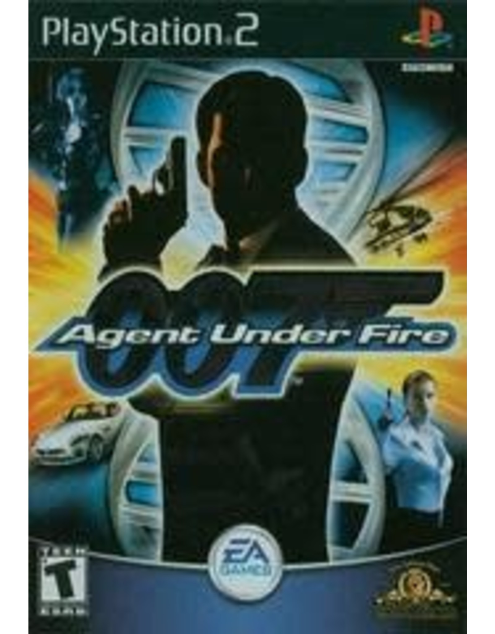Playstation 2 007 Agent Under Fire (No Manual)