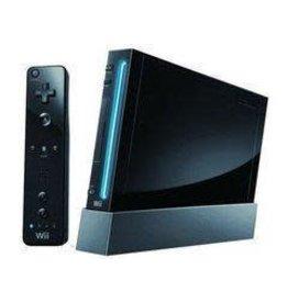 Wii Black Nintendo Wii System (Backwards Compatible, Black MotionPlus Remote)