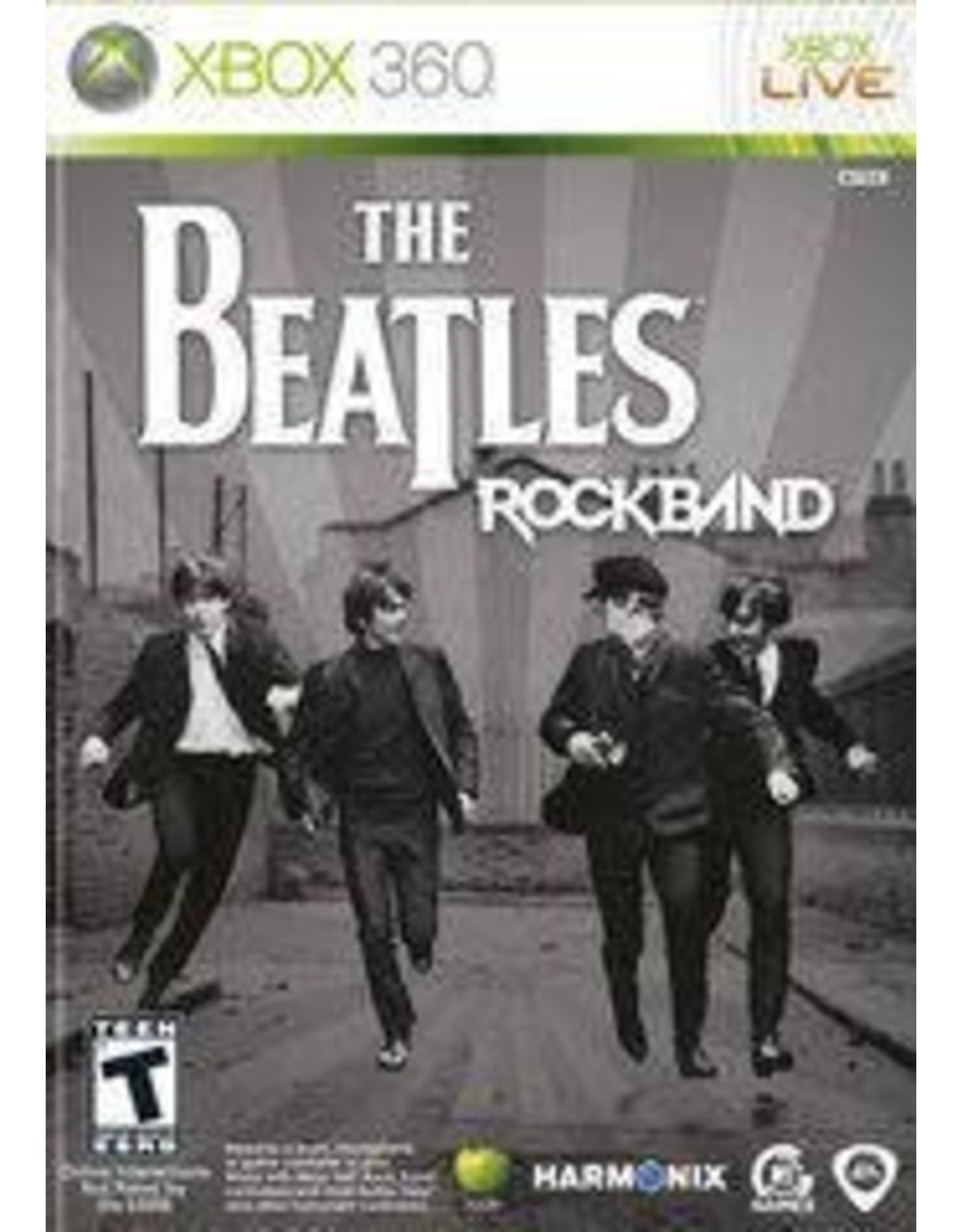 Xbox 360 Beatles: Rock Band (No Manual)
