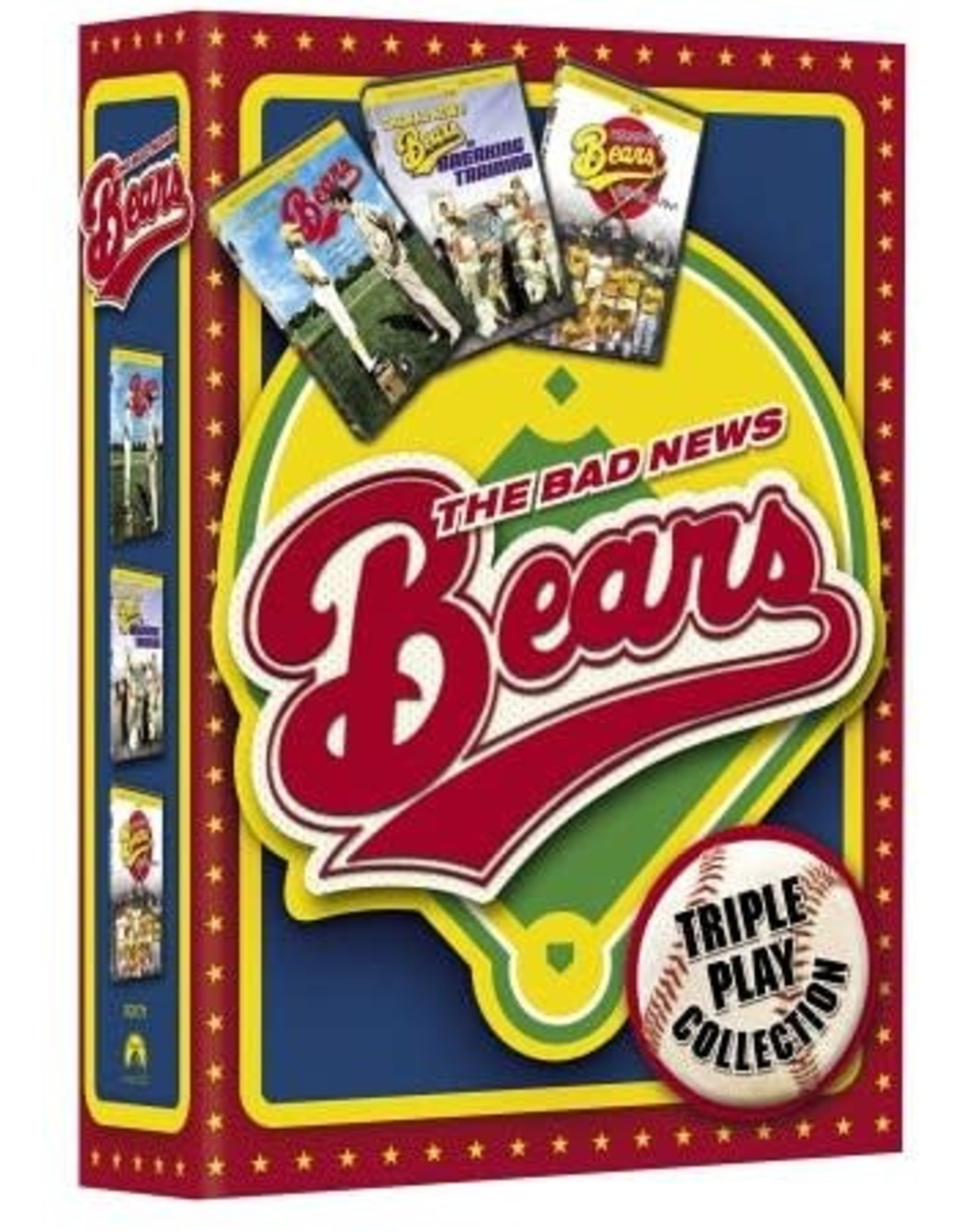 Cult and Cool Bad News Bears Triple Play Collection