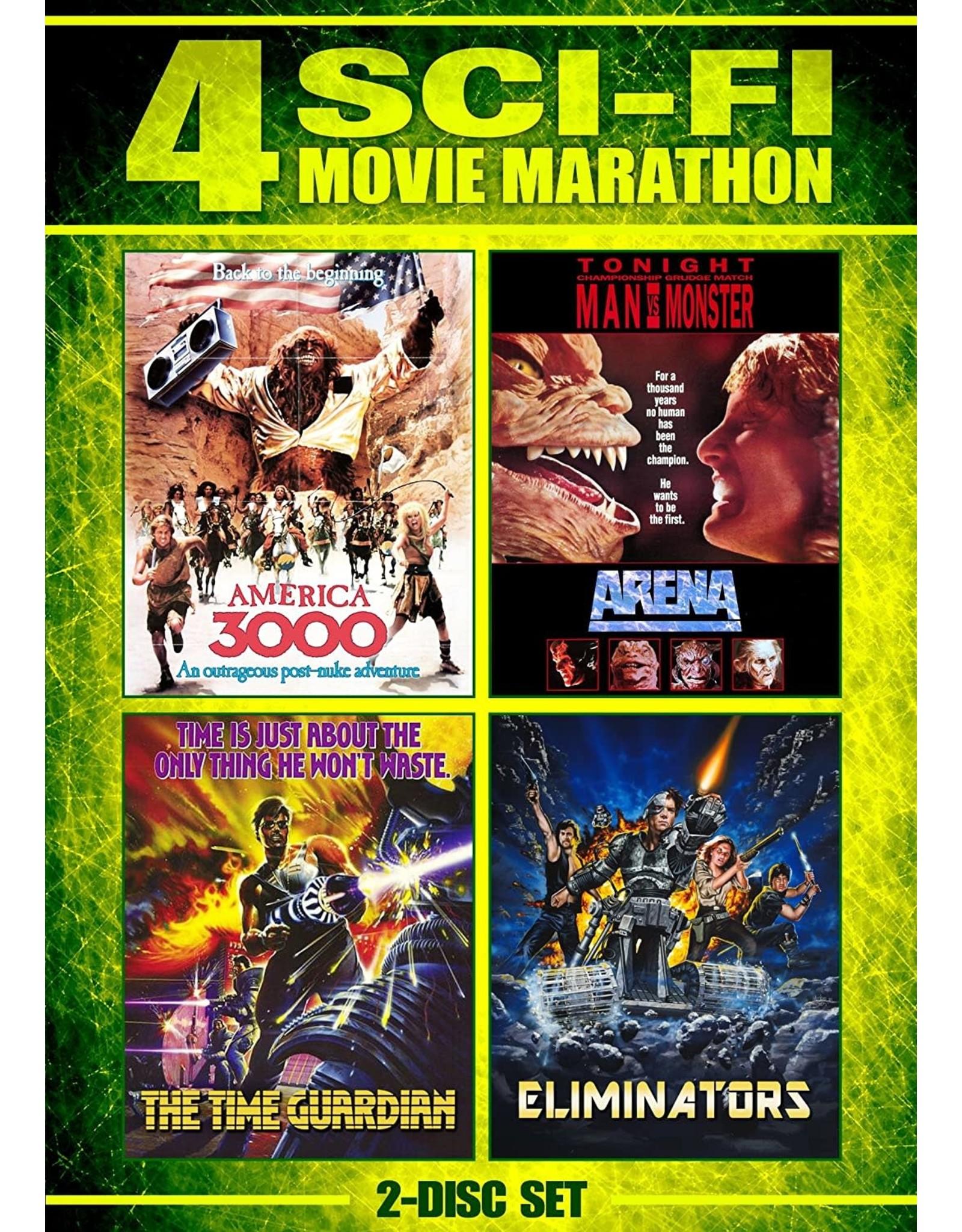 Cult and Cool Arena / Eliminators / America 3000 / The Time Guardian Sci-Fi 4 Movie Marathon
