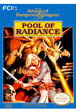 NES Advanced Dungeons & Dragons Pool of Radiance (Cart Only)