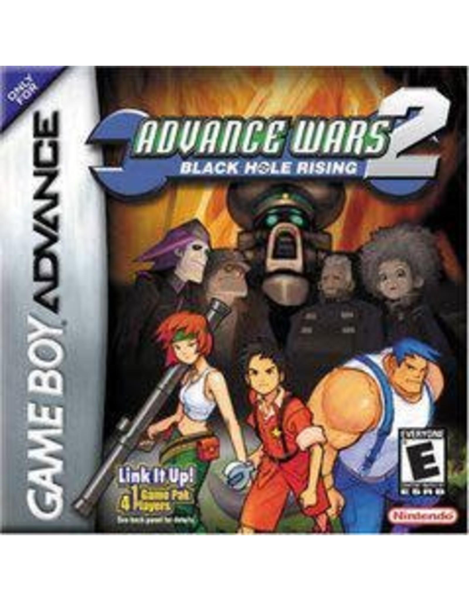 GameBoy Advance Advance Wars 2 Black Hole Rising (CiB, Minor Box Damage)