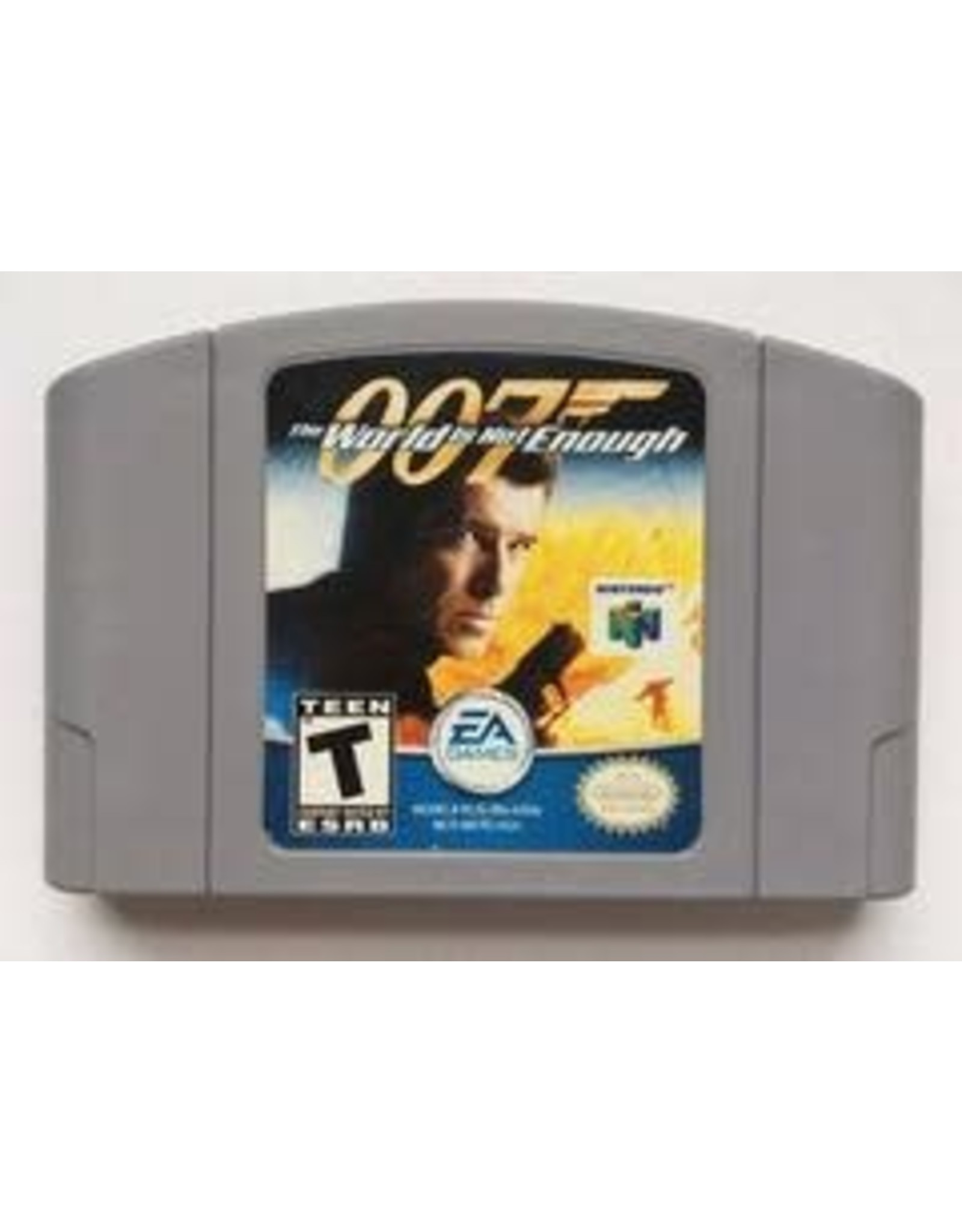 Nintendo 64 007 World Is Not Enough Gray Cart (Cart Only)