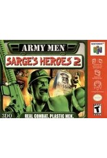 Nintendo 64 Army Men Sarge's Heroes 2 (Cart Only, Minor Cart and Label Damage)