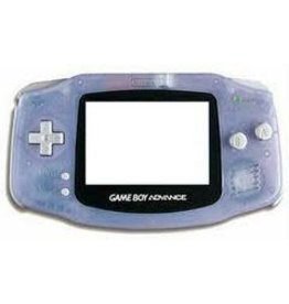 GameBoy Advance Gameboy Advance Console Glacier (New Screen, Mismatched Battery Cover)