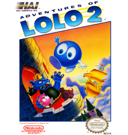 NES Adventures of Lolo 2 (Cart Only)
