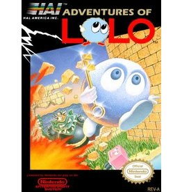 NES Adventures of Lolo (Cart Only)