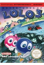 NES Adventures of Lolo 3 (Cart Only)