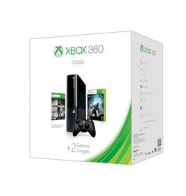Xbox 360 Xbox 360 Slim E Console 250GB Bundle (CiB, complete with Tomb Raider + Halo 4)