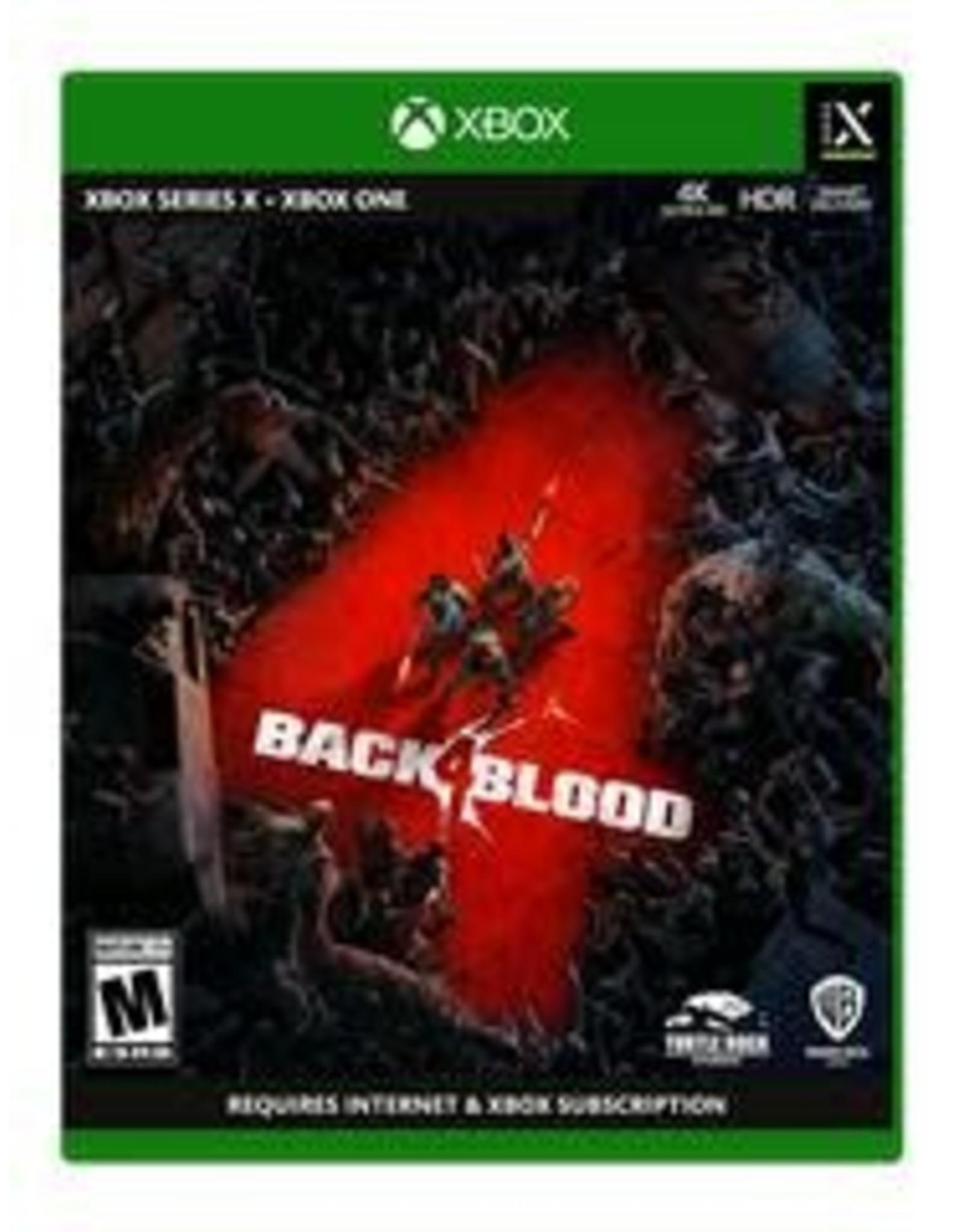 Xbox One Back 4 Blood