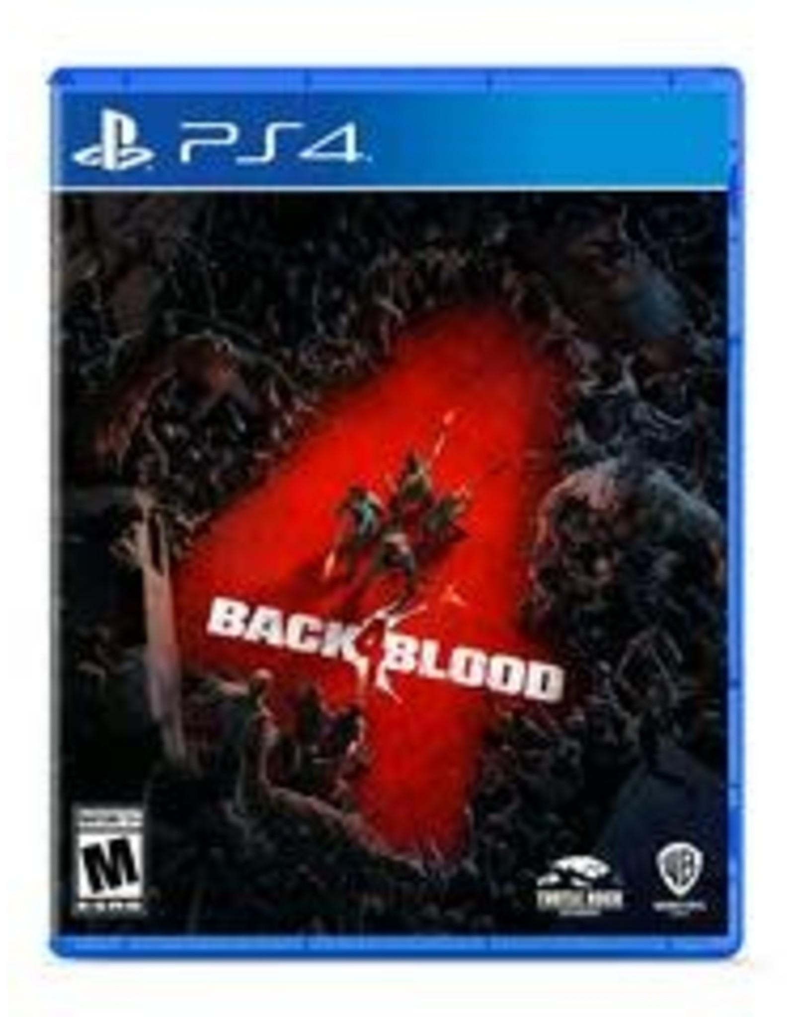 Playstation 4 Back 4 Blood