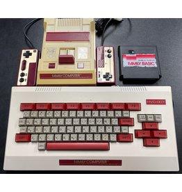 Super Famicom Famicom Console with Family Keyboard and Family Basic Cartridge (AV Modified, Japanese Import)