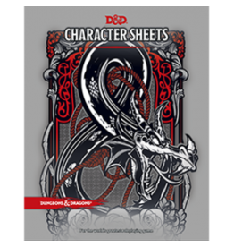 Dungeons & Dragons D&D Character Sheets
