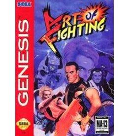 Sega Genesis Art of Fighting (Cardboard Box Damaged, No Manual, Damaged Cart)